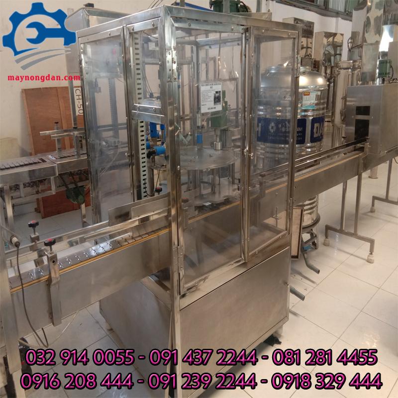 máy chiết rót nước suối tự động