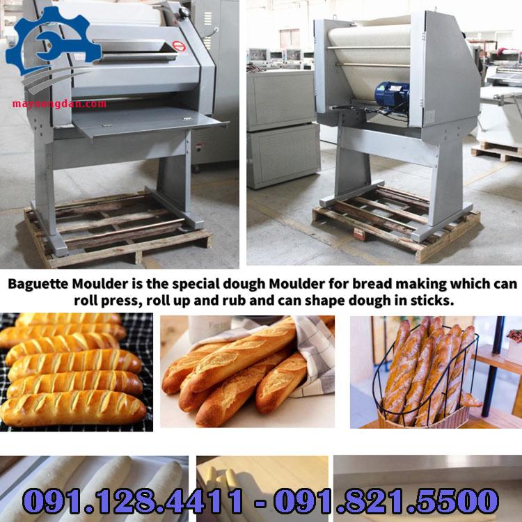 Cấu tạo của máy se bột mì công nghiệp