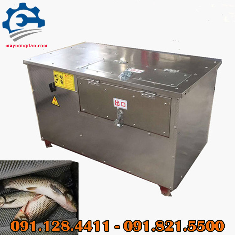 máy đánh vảy cá công nghiệp