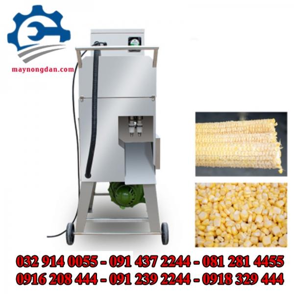 Máy tách hạt ngô – Máy tách hạt bắp, máy tách hạt bắp tự động
