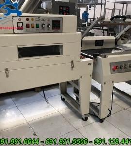 Máy cắt màng co chuyên dụng- Máy cắt rút màng co bán tự động