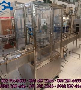 Máy chiết nước suối – Máy chiết rót nước đóng chai tự động, máy chiết rót dung dịch