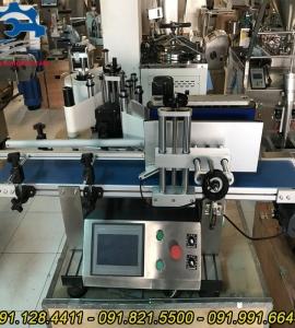 Máy dán nhãn chai tròn tự động chất lượng, nhận tư vấn dây chuyền sản xuất