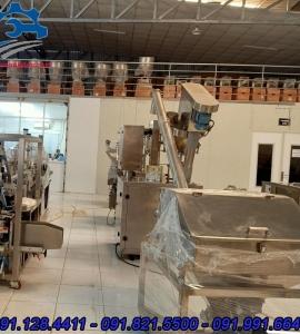 Vít tải cấp bột- vít tải công nghiệp, vít tải inox thực phẩm